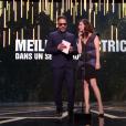 JoeyStarr et Anna Mouglalis pendant les César 2017.