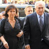 """Anne Sinclair ne s'épanchera plus sur DSK : """"Je ne suis pas Valérie Trierweiler"""""""