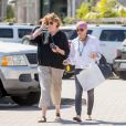 Exclusif - Shannen Doherty et sa mère Rosa sont allées faire du shopping à Malibu, le 26 juillet 2016.