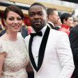 Jessica Oyelowo et son mari David Oyelowo à la 89ème cérémonie des Oscars au Hollywood & Highland Center à Hollywood, le 26 février 2017