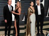 Jennifer Aniston et Jessica Biel : Sublimes avec leurs Justin après les Oscars