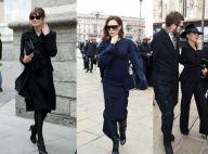 Fashion Week : Carla Bruni chic en noir pour honorer la regrettée Franca Sozzani