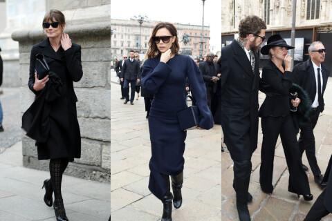 Fashion Week : Carla Bruni, chic en noir pour honorer Carla Sozzani