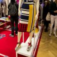 """Gigi Hadid présente sa collection capsule """"Tommy x Gigi"""" printemps 2017 en marge de la fashion week PAP automne/hiver 2017-2018 à Paris le 28 février 2017. © Olivier Borde / Bestimage"""