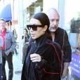 Kim Kardashianà la sortie d'un spa à Brentwood, le 28 février 2017