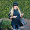 Exclusif - Khloe Kardashian à la sortie du dermatologue Epione salon à Beverly Hills, le 28 février 2017