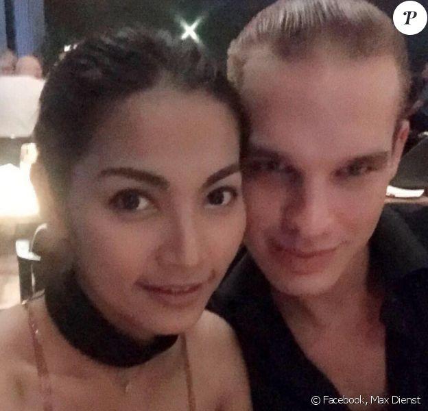 """Maximilien Dienst (""""Top Chef 2017"""") et sa jolie petite amie. Photos datant de 2016-2017."""