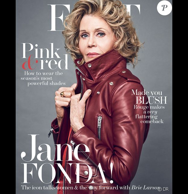 Jane Fonda en couverture de Net-a-Porter - The Edit - mars 2017