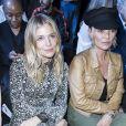 """Sienna Miller et Kate Moss au Défilé de mode prêt-à-porter Automne-Hiver 2017-2018 """"Christian Dior"""" à Paris le 3 mars 2017. © Olivier Borde / Bestimage"""