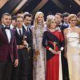 Jane Fonda, Nicole Kidman, Colin Farrell, Edin Hasanovic, Tom Schilling, Wotan Wilke Möhring - Remise des prix des 52ème cérémonie des Goldene Kamera Awards à Hambourg le 4 mars 2017.