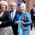 La princesse Christina de Suède, son mari Tord Magnuson, la princesse Margaretha de Suède (à gauche) - Arrivées au déjeuner donné en l'honneur du 70e anniversaire du roi Carl XVI Gustaf de Suède à la mairie de Stockholm, le 30 avril 2016.