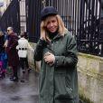 """Enora Malagré - Défilé de mode prêt-à-porter automne-hiver 2017/2018 """"Giambattsita Valli"""" à Paris. Le 6 mars 2017."""