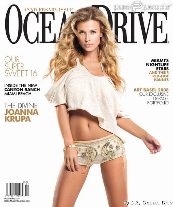 Joanna Krupa pour Ocean Drive