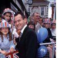 Paul Burrell, ex-majordome de la princesse Diana, lors du mariage du prince Edward et de Sophie Rhys-Jones en juin 1999 à Londres.