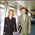 Paul Burrell, ex-majordome de la princesse Diana, et Jackie Allen vers la fin des années 1990.