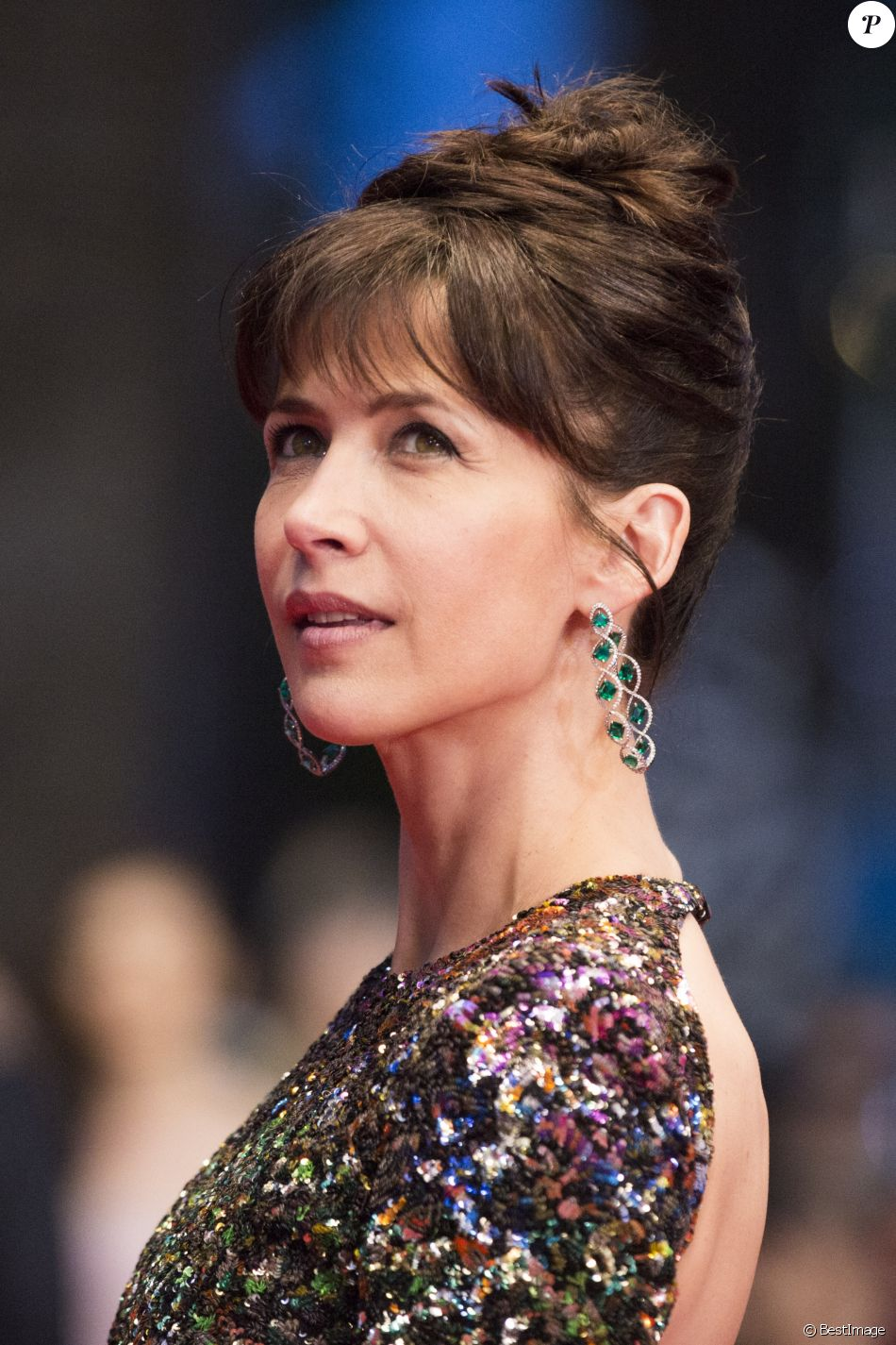 "Sophie Marceau - Montée des marches du film ""Shan He Gu Ren"" (Mountains May Depart) lors du 68e Festival International du Film de Cannes, à Cannes le 20 mai 2015. R"