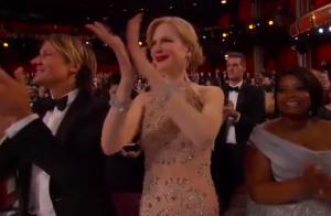 Nicole Kidman explique enfin ses étranges applaudissements aux Oscars