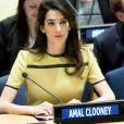 Amal Clooney au siège des Nations Unies, à New York, le 9 mars 2017.