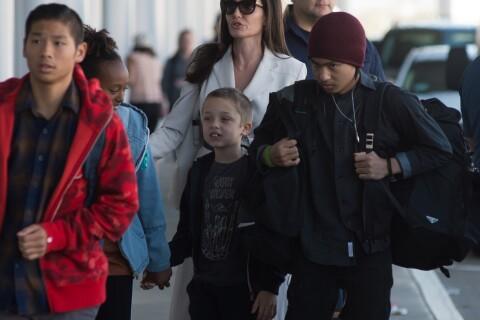 Angelina Jolie : Nouveau voyage en famille pour l'actrice et ses enfants