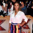 Rochelle Humes au lancement de X-Factor au Playhouse Central à Londres le 26 août 2015.