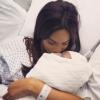Rochelle Humes maman : La photo de son cordon ombilical fait polémique