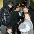 Victoria Beckham présente ses enfants à Dolce et Gabbana