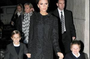 Victoria Beckham, ses enfants sont déjà... des fashion victimes !