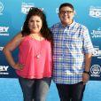 Raini Rodriguez et son frère Rico Rodriguez à la première de Finding Dory au théâtre El Capitan à Hollywood, le 8 juin 2016