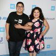 Le frère et la soeur Rico Rodriguez et Raini Rodriguez à la soirée WE Day California à Inglewood, le 7 avril 2016