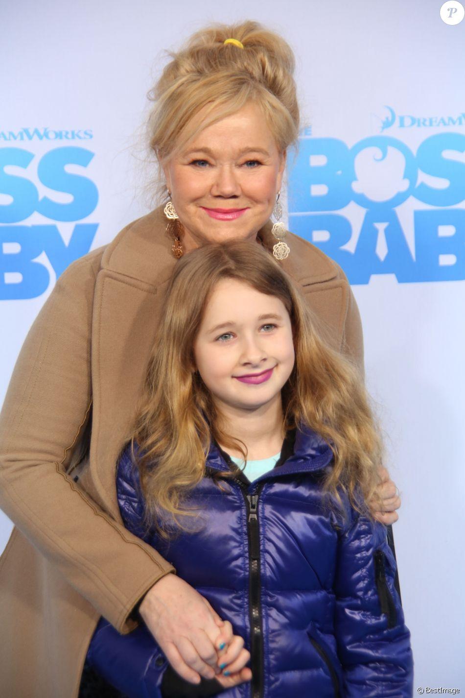 Caroline Rhea et sa fille Ava Rhea à la première de ''Boss ...