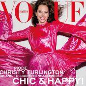 """Christy Turlington : 48 ans, """"chic et heureuse"""" pour Vogue Paris"""