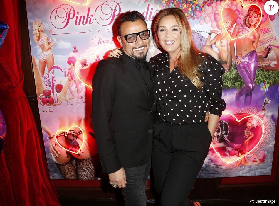 """Muratt Atik (propriétaire et patron du Pink Paradise), Lola Dewaere - Soirée des 15 ans du célèbre club parisien """"Le Pink Paradise"""" à Paris le 23 mars 2017."""