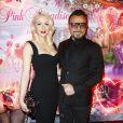 """Muratt Atik (propriétaire et patron du Pink Paradise) et sa femme Joanna Yelena Atik - Soirée des 15 ans du célèbre club parisien """"Le Pink Paradise"""" à Paris le 23 mars 2017."""