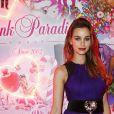 """Elisa Bachir Bey - Soirée des 15 ans du célèbre club parisien """"Le Pink Paradise"""" à Paris le 23 mars 2017."""