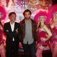"""Sebastien Knafo, Bartholomew Boutellis - Soirée des 15 ans du célèbre club parisien """"Le Pink Paradise"""" à Paris le 23 mars 2017."""