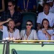 Bob Sinclar : Complice avec sa femme Ingrid pour encourager Roger Federer