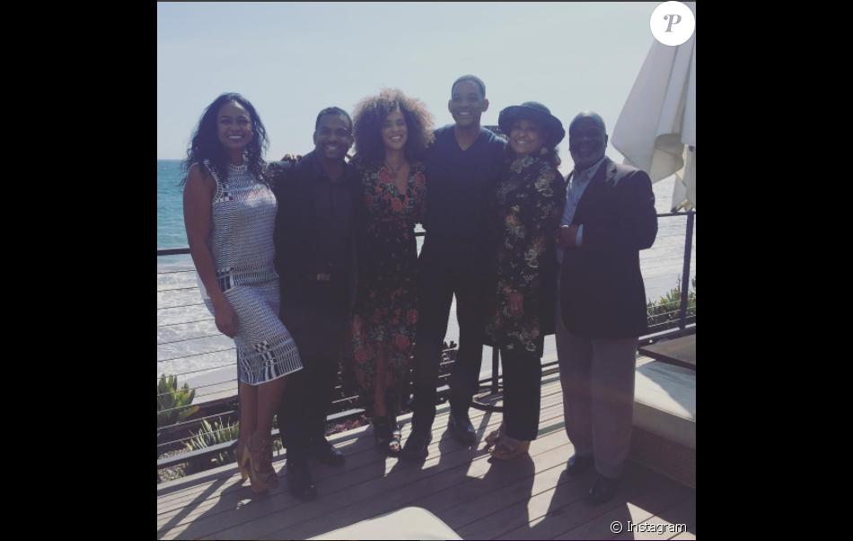Les acteurs du Prince de Bel-Air réunis pour la bonne cause - mars 2017. Il manque Janet Hubert, en mauvais termes avec l'équipe.