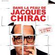 L'affiche du film Dans la peau de Jacques Chirac de Karl Zéro