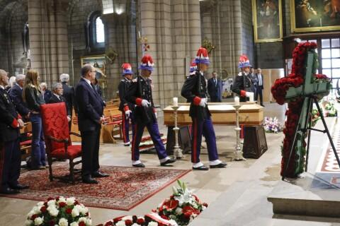 Albert II de Monaco : Recueilli pour l'adieu à Bernard Spindler