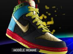 Une paire de Nike créée spécialement pour les NRJ Music Awards 2009...