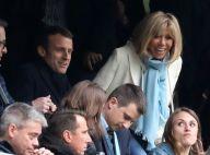 Emmanuel Macron vibre pour l'Olympique de Marseille, Brigitte à ses côtés