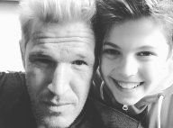 Benjamin Castaldi : Photo rare et complice avec son fils Enzo