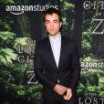 Robert Pattinson lors de la première de The Lost City of Z aux ArcLight Cinemas Hollywood, Los Angeles, le 5 avril 2017.