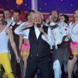 """Exclusif - Patrick Sébastien - Enregistrement de l'émission """"Le plus grand cabaret du monde"""" à La Plaine Saint-Denis, diffusée le 8 avril 2017. Le 4 avril 2017 © Giancarlo Gorassini / Bestimage"""