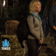 "Kelly éliminée du jeu - ""Koh-Lanta Cambodge"". Sur TF1, le 14 avril 2017."