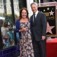 Gary Sinise (avec sa femme) reçoit son étoile sur le Walk of Fame à Hollywood, le 17 avril 2017 © Chris Delmas/Bestimage