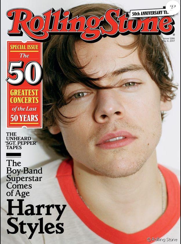 Harry Style en couverture du magazine Rolling Stone.
