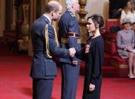 Victoria Beckham : Fête en famille après la remise de son insigne d'officier