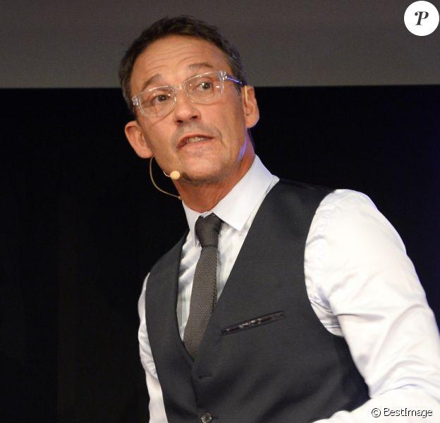 Julien Courbet - Conférence de presse de rentrée du groupe RTL à Paris le 7 septembre 2016.