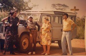 Sonia Rolland : Rare photo de ses parents, amoureux au Rwanda